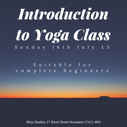 Introduction to Yoga Class